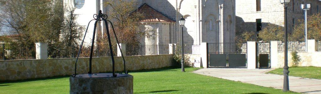Vistas del ábside románico